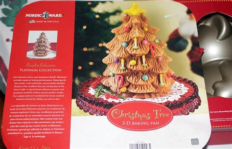 nordic ware christmas tree cake pan 3d cake baking tips projects by zac