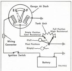 Chevy Fuel Gauge Wiring Diagram