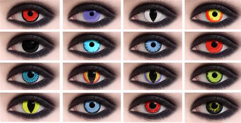 contacts that change your eye color weighing the pros and cons of special effects contact