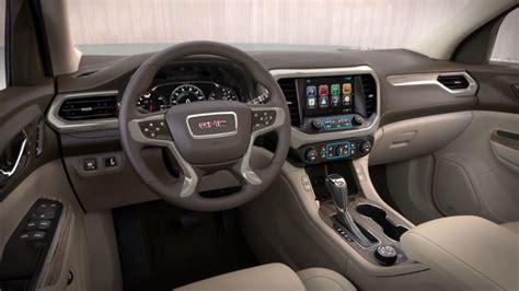 gmc acadia design exterior interior engine
