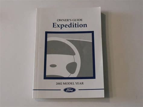 ford expedition owners manual book owners manuals