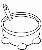Soup Pot Coloring Bowl Pages Drawing Stew Stone Cooking Printable Clipart Template Getdrawings Cereal Pots Pans Clipartmag Getcolorings Cliparts Results sketch template