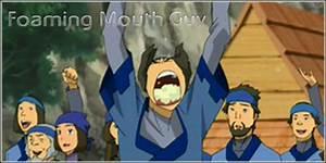 Foaming Mouth Guy