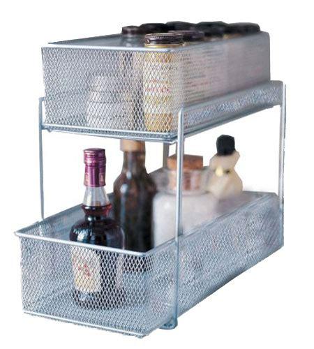 mesh sliding cabinet baskets  pull  baskets