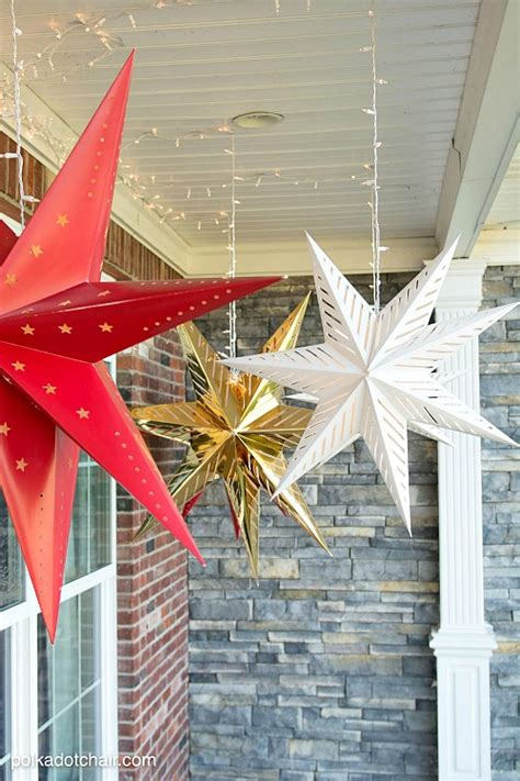 easy diy outdoor christmas decorating ideas