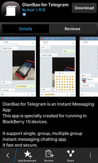 telegrann the telegram client for blackberry 10 page 9 blackberry forums