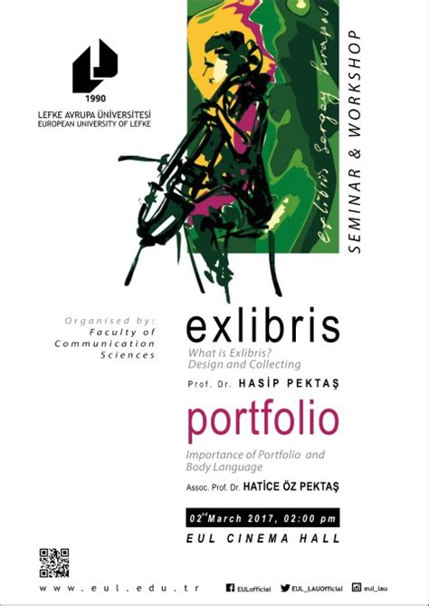 exlibris portfolio seminar workshop european university lefke