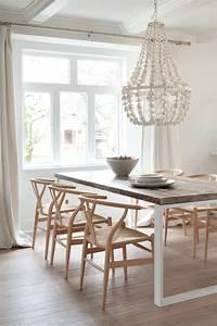 Chandelier De Table : flower drop chandelier contemporary dining room kelly deck design ~ Melissatoandfro.com Idées de Décoration