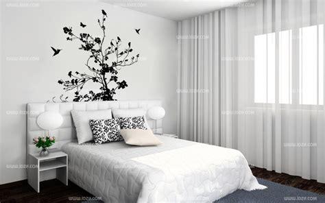 sticker chambre adulte stickers tête de lit arbre