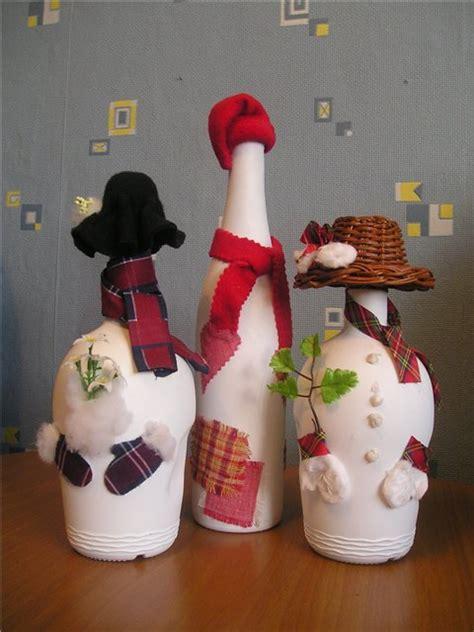 decoracion navidena reciclando botellas de vidrio frases