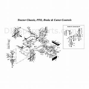 Westwood T1600 42 U0026quot  Tractor  T160042  Parts Diagram  Page 4