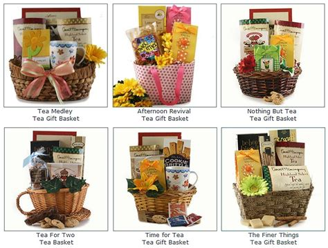 Gourmet Tea Gift Basket   Shop for Beautiful Gift Ideas