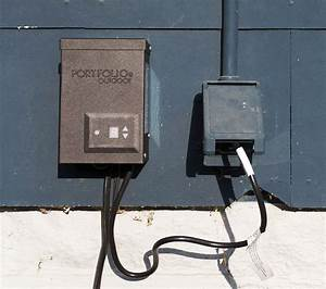 simple landscape lighting deuce cities henhouse With how to wire outdoor lighting transformer