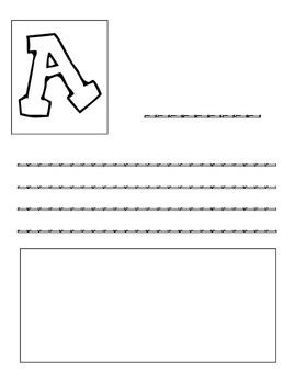 abc book template abc book template by strawberry momster teachers pay teachers