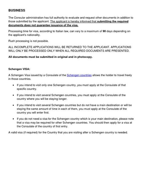Shengen Visa Invitation LetterVisa Invitation Letter