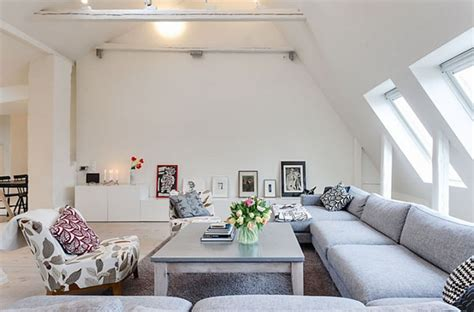 swedish decorating ideas scandinavian house white decorating ideas attic penthouse in sweden