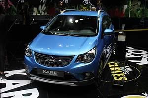 Avis Opel Karl : opel karl rocks baroudoudeuse en direct du mondial de l 39 auto 2016 ~ Gottalentnigeria.com Avis de Voitures
