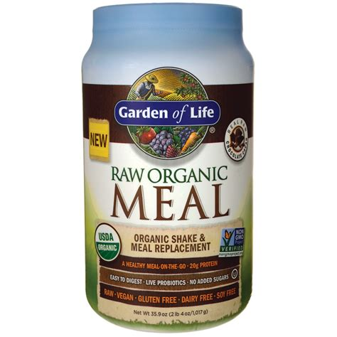 meal garden of garden of organic meal shake meal replacement