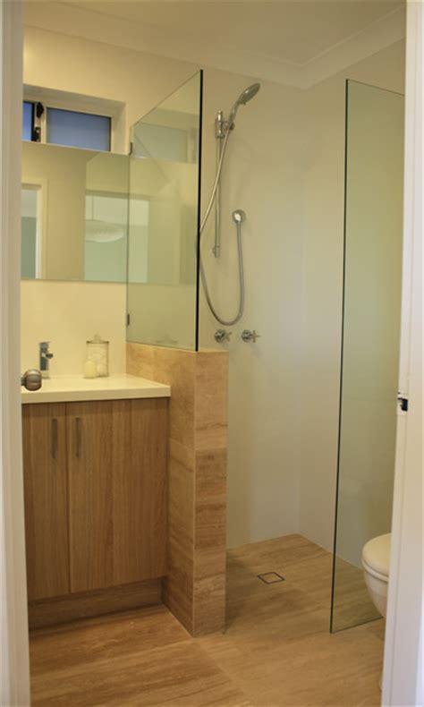 small ensuite renovation modern bathroom