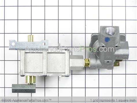 ge wbk oven gas valve regulator assembly appliancepartsproscom
