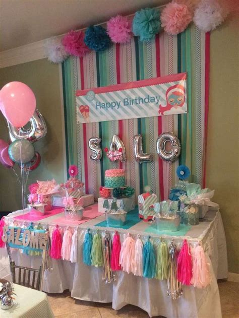 spa birthday party ideas    craft house