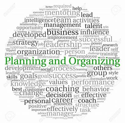 Planning Organizing Research Career Development Word Concept