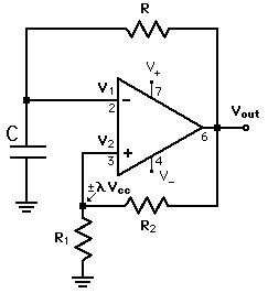 Amp Getting Pwm With Astable Multivibrator Square