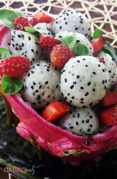 C Kitchen Ideas - mother of dragon fruit salad a mojito