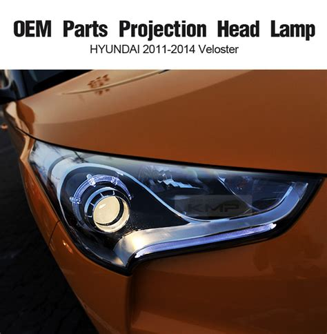 Oem Genuine Parts Projection Head Lamp For Hyundai 2011