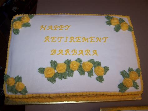 decorating tips tricks and ideas retirement cakes