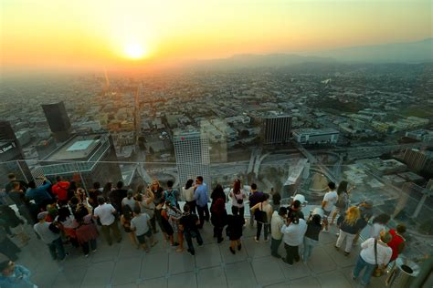 us bank tower observation deck hours the best city views in la you can get to without a big