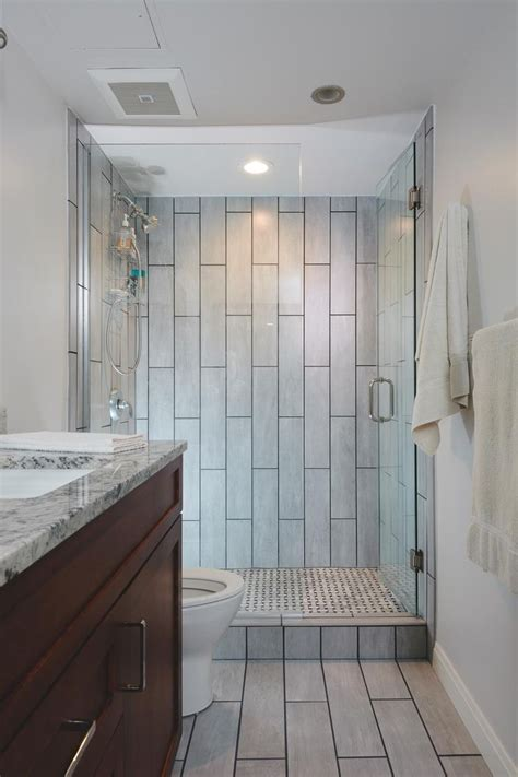 Bathroom Shower Ideas On A Budget by 25 Best Ideas About Vertical Shower Tile On