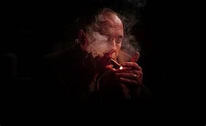 Soprano Tony Sopranos Gifs James Gandolfini Smoking