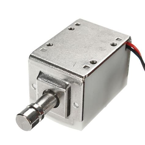 24V DC 1A Mini Electric Bolt Lock Cylindrical Sauna