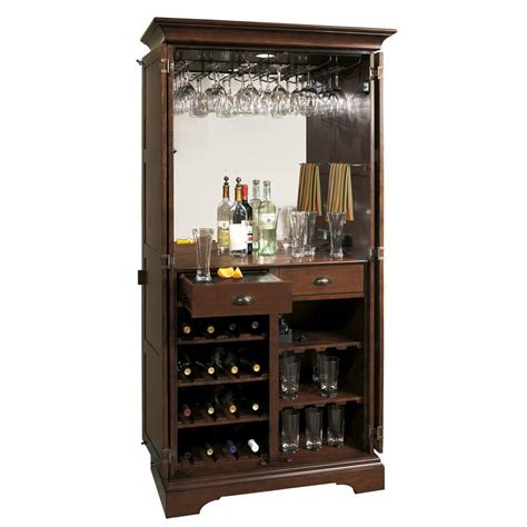 wine and bar cabinet 695110 ridgeville wine bar cabinet distress cherry store