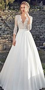 high neck empire waist long sleeve lace bowknot wedding With long sleeve dresses to wear to a wedding
