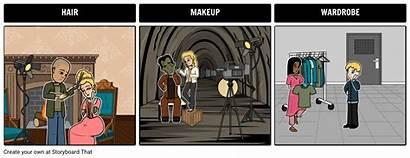 Wardrobe Makeup Hair