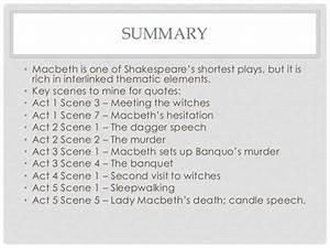 Macbeth revisio... Macbeth Summary