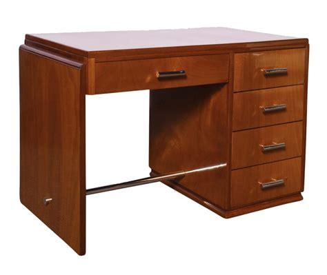 art deco desk l art deco desk in mahogany modernism