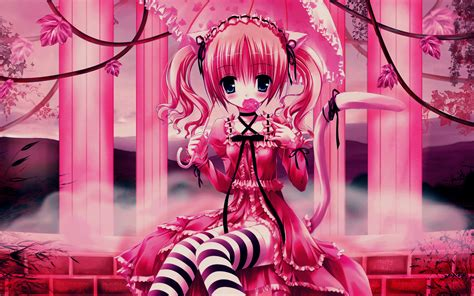 Pink Anime Wallpaper - these 45 pink wallpapers every engineer will