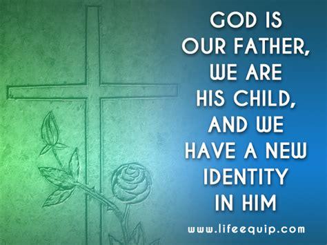 comforting quotes   true identity  god