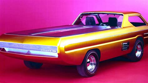 Dodge Car : The Dodge Deora Is The Truck From A Future We're Still