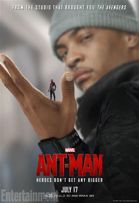 7 ant character posters featuring paul rudd more