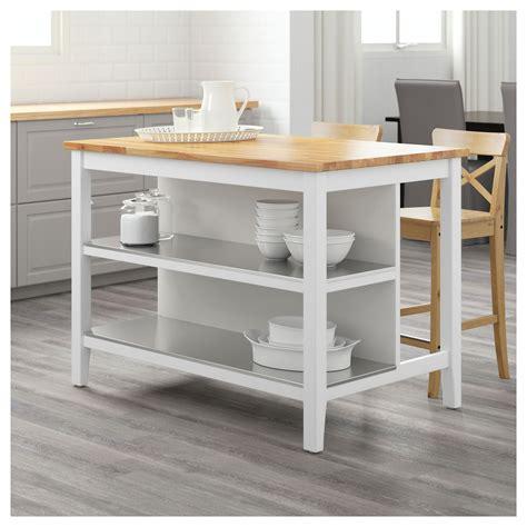 kitchen island white stenstorp kitchen island white oak 126x79 cm ikea