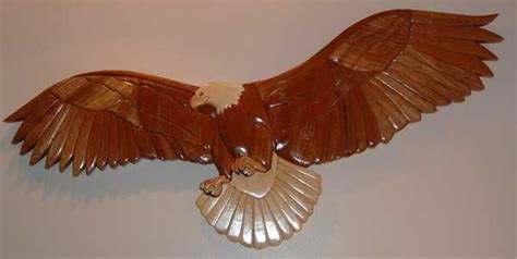 intarsia eagle woodworking blog  plans