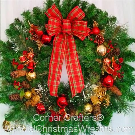 thin christmas wreath artificialchristmaswreathscom