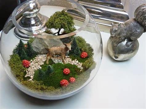 diy miniaturlandschaft als huebsche deko fuer den tisch
