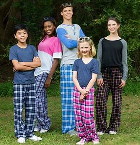 Plaid Flannel Lounge Pajama Pants In 30 Colors W Choice