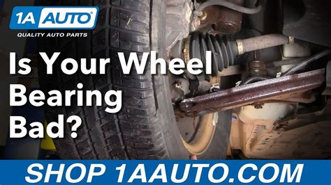 bad front wheel bearing hub