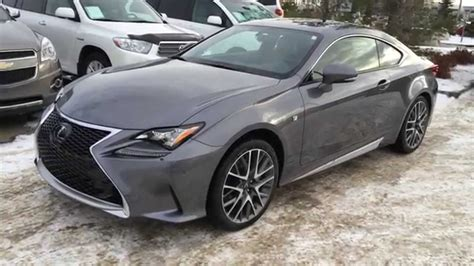 lexus gray new grey on red 2015 lexus rc 350 2dr cpe awd review